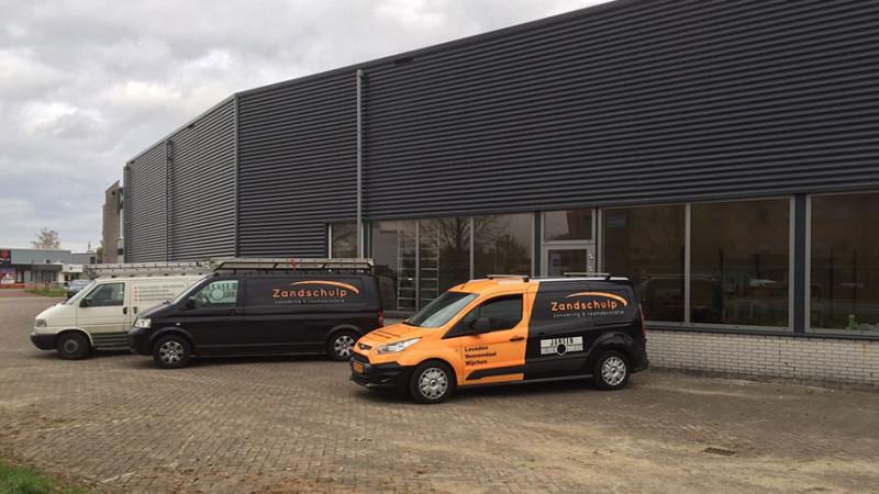 Zandschulp zonwering showroom Veenendaal