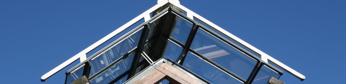 Glasoverkapping zonwering